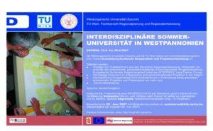 Interdisciplinary Summer University Westpannonia