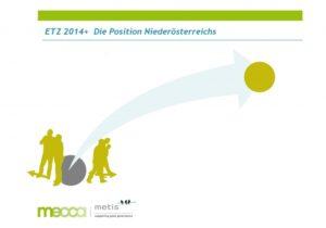 Die Zukunft der ETZ Niederösterreich