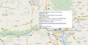Interaktive Landkarte der RECOM SK-AT AkteurInnen